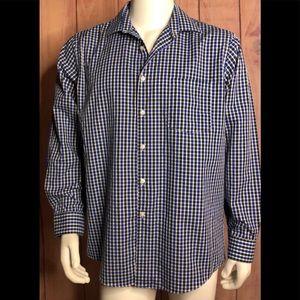 Van Heusen mens long sleeve shirt size 17 34/35